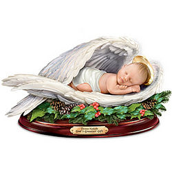 Baby Jesus Sculpture with Nativity Narration
