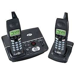 AT&T E5925B 5.8 GHz DSS Cordless Phone with Dual Handsets