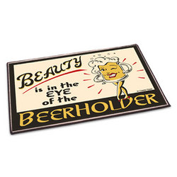 Beerholder Welcome Mat