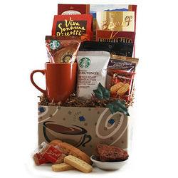 Coffee Rush Gift Basket