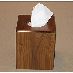 Boutique Wooden Tissue Box Cover