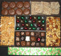 Treats Galore Holiday Candy Box