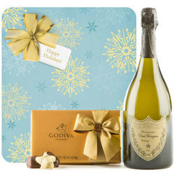 Winter Wonderland with Dom Perignon & Godiva Truffles
