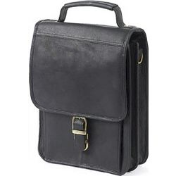 Top-Grain Leather Man Bag