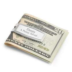 Sterling Silver and Stainless Steel Money Clip