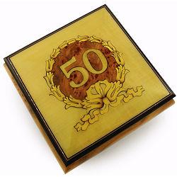 30 Note 50th Anniversary Music Box