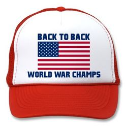 Undisputed World War Champions American Flag Cap