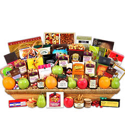 Signature Series Fruit and Gourmet Basket