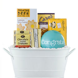 Congrats Have a Cookie Gift Basket