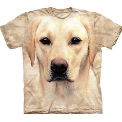 Yellow Lab Dog T-Shirt