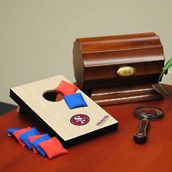 San Francisco 49ers Table Top Bean Bag Toss