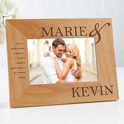Perfect Couple Personalized 4x6 Frame