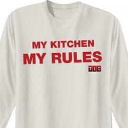 Cake Boss My Kitchen My Rules Long Sleeve T-Shirt