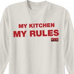 Cake Boss My Kitchen My Rules Long Sleeve T-Shirt