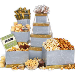 Taste of Elegance Gourmet Gift Tower