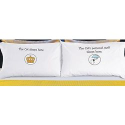 The Cat's Staff Pillowcase Set