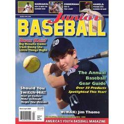 Junior Baseball Magazine 6-Issue Subscription