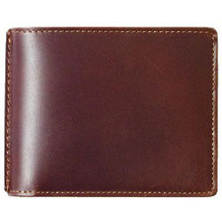 Personalized Leather Slimfold Wallet