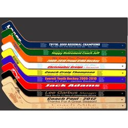 Personalized Mini Roster Hockey Stick