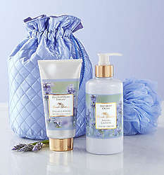 Camille Beckman Small Lavender Gift Bag