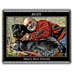 Prestige Color Pet Photo Blanket