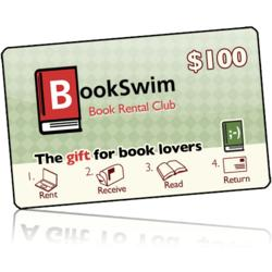 Christmas $100 BookSwim Gift Membership with Bonus Gift