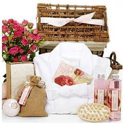 Superior Rose Petal Calming Spa Set
