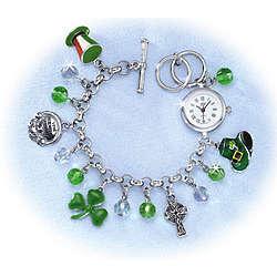 Wildly Irish Charm Watch Bracelet