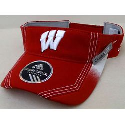 Wisconsin Mens Player Adjustable Visor