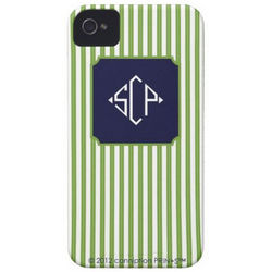 Chartreuse Cabana Cell Phone Case
