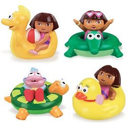 Dora the Explorer Bath Squirters