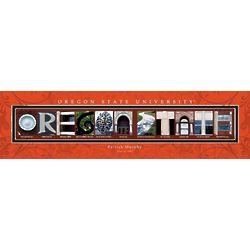 Personalized Oregon State University Architecture Print