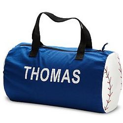 Personalized Baseball Duffel Bag