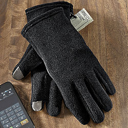 Men's Touch Sensor Microfleece Gloves