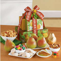 Pick Your Occasion Fruit and Snacks Gift Tower