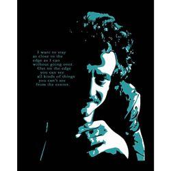 Kurt Vonnegut Pop Art Print