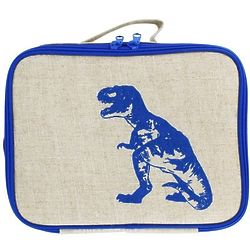 Blue Dinosaur Insulated Kids Lunch Box