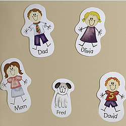 Personalized Family Character Magnet