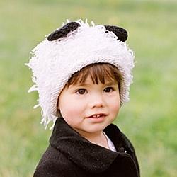 Panda Monium Baby Hat