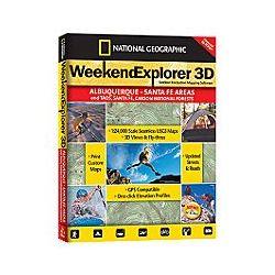 Weekend Explorer 3D Software for Las Vegas Region