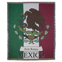Personalized Mexican Tapestry Afghan