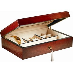 Mens Teakwood Jewelry Box
