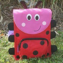 Personalized Ladybug Lunchbag