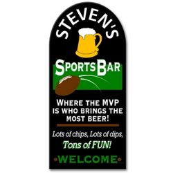 Sports Bar Personalized Sign