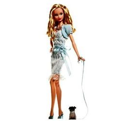 Miss Aquamarine March Barbie Birthstone Beauty