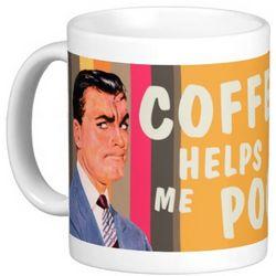 Coffee Helps Me Poop Coffee Mug