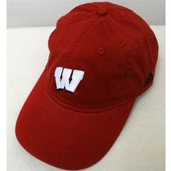 Women's Wisconsin Red Slouch Baseball Cap