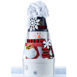 Stay Frosty Holiday Treat Tower