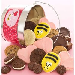 Bee Mine Buttercream Cookie Pail