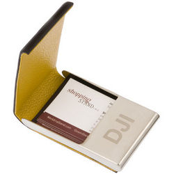 Leather Personalized Business Card Holder